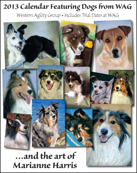 2013 Calendar featuring Dogs of WAG